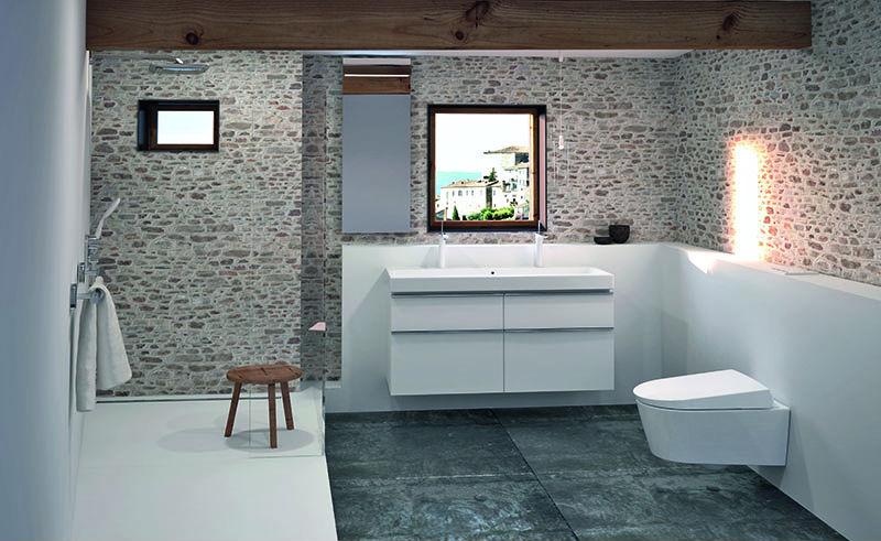 Los baños pequeños ganan espacio y diseño con las Soluciones Geberit ...