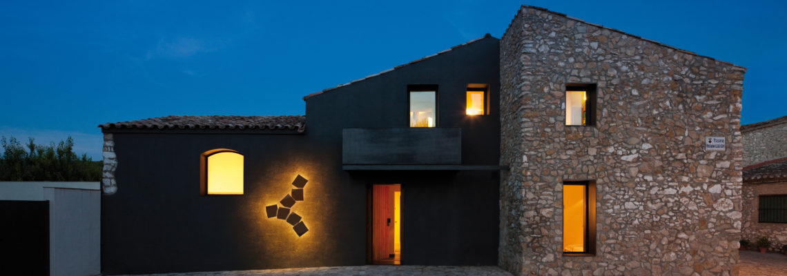 Iluminar las superficies verticales de ambientes