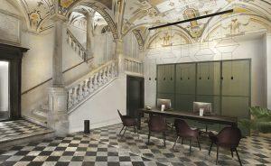 Palazzo Grillo, elegancia atemporal y belleza iluminadas por Vibia